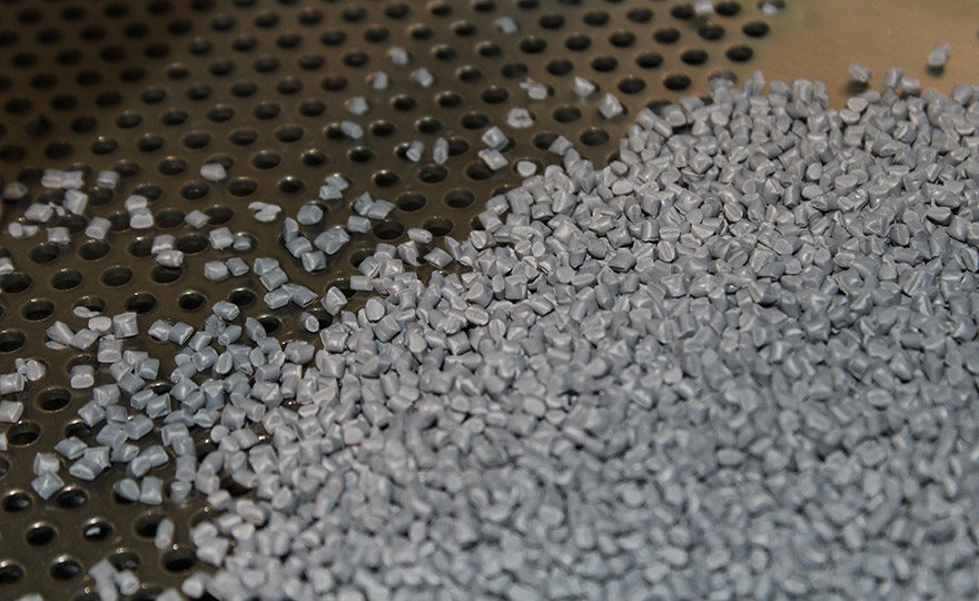Example of Pellets used in TPE Compounding