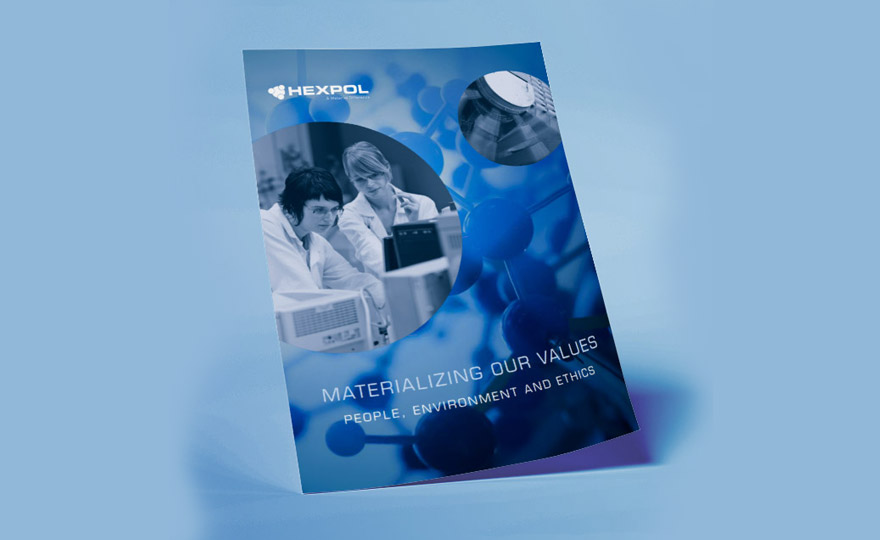Cover of Materializing Our Values Brochure