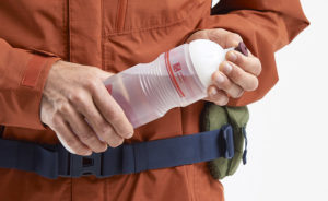 VAUDE water bottle with valve