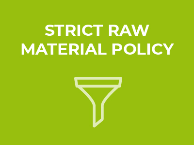 Mediprene Concept - Raw material Selection