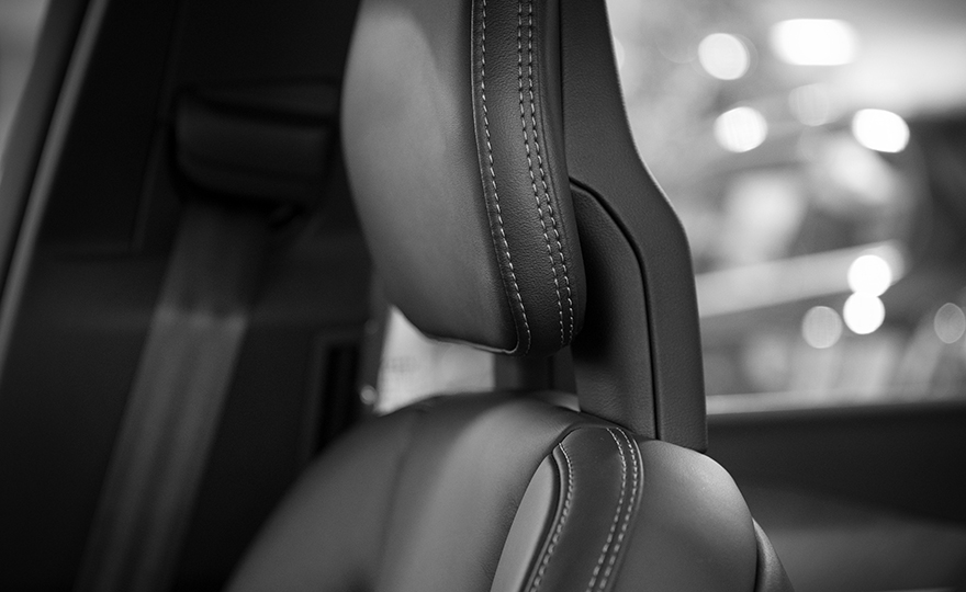 High Flow Materials for Headrest + Seat Covers