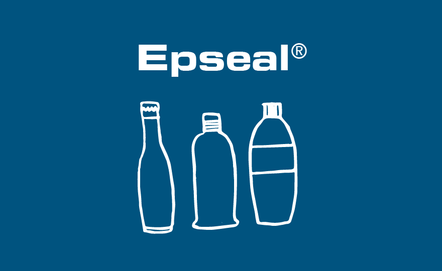 Epseal sealing compounds for beverage caps & closures