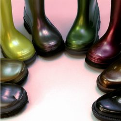 Flexible Polymers for Footwear Applications